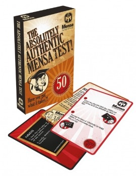 The Absolutely Authentic Mensa Test! | British Mensa Shop