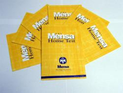 Mensa Home Test