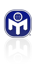 Mensa Logo with reflection